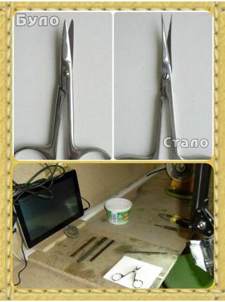 Заточка манікюрних ножиць